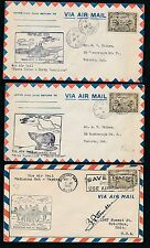 87228) Canada, 6 diff. FF covers ( years mostly 1928 - 1937 ) have a look !