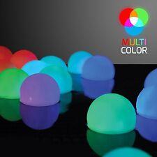 Pool Lights LED Set of 12 Mood Light Garden Deco Balls Light up Orbs NEW