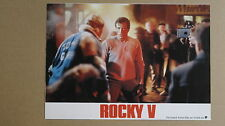 (T424) Aushangfoto ROCKY V - Sylvester Stallone #3
