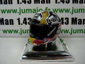 CM36 CASQUE MOTO GP 1/5  RARE ARGENT : MARC MARQUEZ 2012 World Champion Shoei