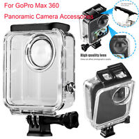 45M Waterproof Housing Shell Diving Case For GoPro Max 360 Panoramic Camera MV
