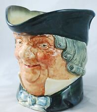 """ROYAL DOULTON ENGLAND CHARACTER TOBY JUG """"PARSON BROWN"""" LARGE SIZE 6 1/2 PITCHER"""