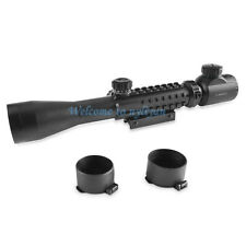 Illuminated 3-9x40EG Red/Green Optics Sniper Scope Sight For Rifle Gun Hunting