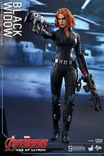 Hot Toys Avengers Age of Ultron BLACK WIDOW MMS288 1/6 scale figure~NIB