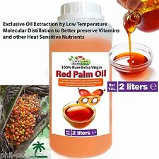 2 x 1 Lt Bottle - RED PALM OIL (Extra Virgin) - FREE SHIPPING