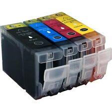 4 Druckerpatronen für Canon IP 3000 ohne Chip