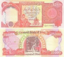 MINT IRAQ 25000 NEW DINARS IRAQI IQD-CERTIFIED!