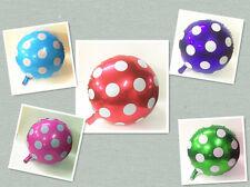 ♛ Shop8 : 1 pc POLKA DOT METALLIC FOIL BALLOON Theme Party Needs Decor