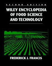 Wiley Encyclopedia of Food Science and Technology, 4 Volume Set Frederick P'D'F