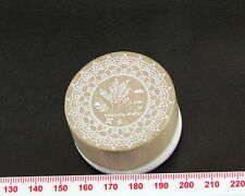 Love Leaves Round Rubber Stamp