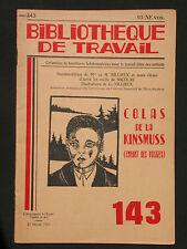 BT 143 - Colas de la Kinsmuss - Enfant des Vosges - Tradition coutumes