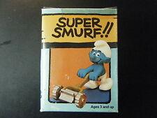 6731 (4.0225) SUPER SMURF – LAWN MOWER - NEW IN W. BERRIE BOX