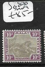 MALAYA FMS (P3110B) TIGER 10C  SG 20D  MOG
