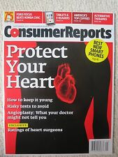 Consumer Reports Magazine September 2011 Protect Your Heart Best New Phones