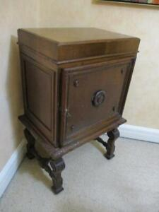 ANTIQUE COIN COLLECTOR WOODEN CABINET 5 DRAWS SUIT ENTOMOLOGY GEOLOGY GEM