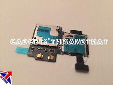 New Samsung Galaxy S4 GT i9505 SD Sim Card Reader Holder Slot Flex Cable Ribbon
