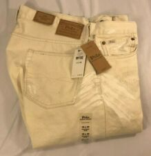 Polo Ralph Lauren Sullivan Slim Jeans 36x30 Distressed Repaired Gardener NWT$125