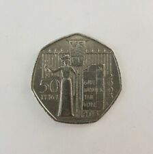 2003 Suffragette Give Women the Vote 50p Coin