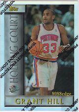 1996-97 TOPPS HOLDING COURT REFRACTOR: GRANT HILL #HC4 DETROIT PISTONS ALL-STAR
