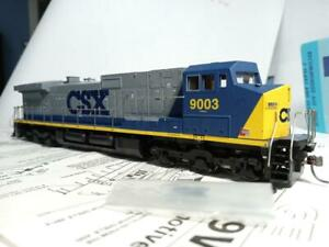 Athearn #4918 HO DC C44-9W CSX #9003 used, very good
