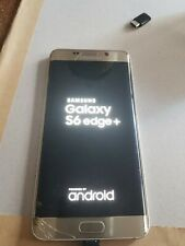Samsung Galaxy S6 edge+ 32GB Unlocked Smartphone - Gold Platinum