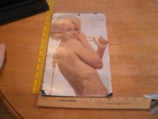 "Marilyn Monroe VINTAGE Original calendar 1974 January - December 9x13"""