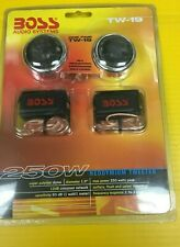 BOSS AUDIO SYSTEMS TW19 CROME MICRO- DOME