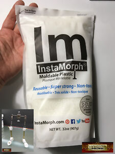 M00028-32 MOREZMORE Instamorph 32 oz Moldable Plastic Thermoplastic Pellets