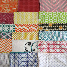 Set of 4 - Random Pick Factory Sample Geometric Pattern Cushion Covers