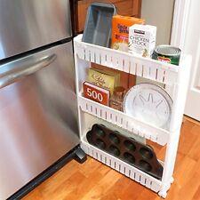 Thin Slide Out Kitchen Organizer Shelf Stand Rack Tray Cart Tower This Storage U