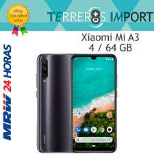 "Xiaomi Mi A3 Gris Negro 4GB 64GB Rom Versión Global Europea 6.08"" Amoled 48MP"