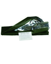 Mil-Tec Survival Decke Silber / Oliv