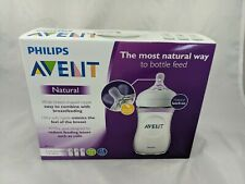 Philips Avent Natural Bottle Lot 3 Wide Neck 9 oz New