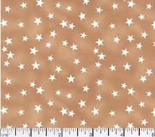 1 yard Lucky Stars Tan  Fabric