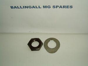 NUT CAM GEAR AND LOCK TAB MGB MGA AND MINI WITH NEW LOCK TAB 311-500 460-550