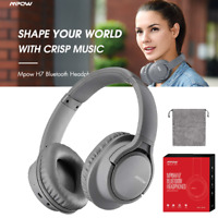 Mpow H7 Wireless Bluetooth Headset Foldable HiFi Stereo Bass Over Ear Headphones