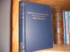 Genealogical Register of New England Genealogy Book