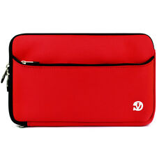 """Red Neoprene Tablet Sleeve Case Cover For 9.7"""" Apple iPad/ Samsung Galaxy Tab S3"""