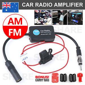 Car Hidden Aerial Radio Antenna Signal Booster Amplifier Strengthen 25db 12V