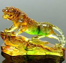 Liuli tiger ( big size ), Colored crystal arts, Holiday craftworks presents