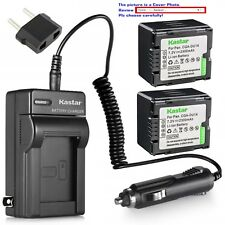 Kastar Battery Travel Charger for Panasonic CGR-DU14 CGA-DU14 NV-GS230 NV-GS250