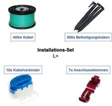 Installations-Set L+ Wolf Garten Robo Kabel Haken Verbinder Installation Paket