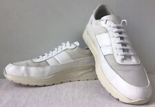 Common Projects Track Super Sneakers White w/Cream Soles Size EU 40 US 9 ($508)