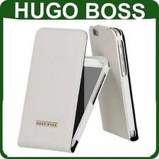 Estuche Abatible de Cuero Genuino HUGO BOSS Apple iPhone 6 6s Solapa Funda Libro Original