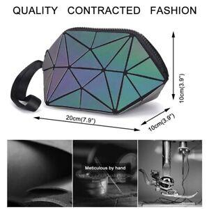 丨Hot Makeup Bag Geometric Travel Cosmetic Bag Foldable Women's Toiletry Bag Case