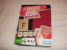 Scrabble Slam Card Game Never played box squashed