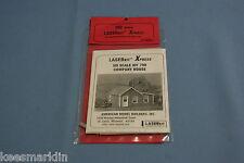 Laser kit 798 Company House  Xpress   HO Scale