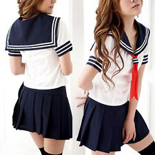 Cosplay Japanese School Girl Students Sailor Uniform Anime Fancy Dress Costume K