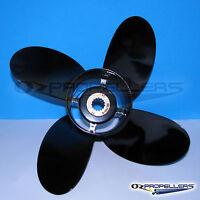 12 1//4 x 9 G Prop Propeller For Yamaha 40-50-60HP Outboards 3 Blade Aluminium