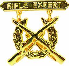 US MARINE CORPS RIFLE QUALIFICATION EXPERT SHOOTING BADGE PIN U.S.A